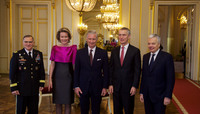 NATO Secretary General attends the New Year's reception hosted by the King of the Belgians