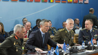 MC/CS with NATO Secretary General Jens Stoltenberg - 178th Military Committee in Chiefs of Defence Session