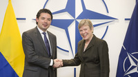 Deputy Defence Minister and Chief of Defence of Colombia visit NATO