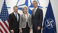 NATO Secretary General meets with United States Special Representative for Ukraine