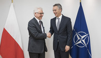 Minister of Foreign Affairs of Poland visits NATO