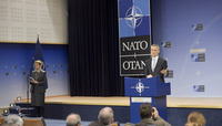 Meetings of the Defence Ministers at NATO Headquarters in Brussels - Press Conference by NATO Secretary General