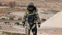 NATO experts train Jordanian bomb disposal soldiers