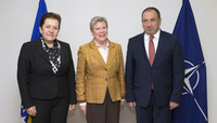 Visit to NATO by the Minister of Foreign Affairs and the Minister of Defence of Bosnia and Herzegovina