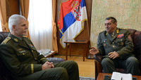 The Chairman of the NATO Military Committee visits Serbia