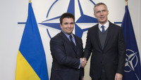 Visit to NATO by the Minister of Foreign Affairs of Ukraine