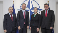 NATO Secretary General meets with Energy Briefers