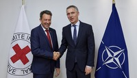 Visit to NATO by the President of the International Committee of the Red Cross