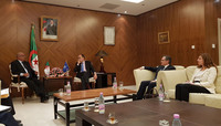 Official visit of NATO Assistant   Secretary General for Political Affairs and Security Policy to Algeria
