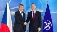 The Prime Minister of the Czech Republic visits NATO