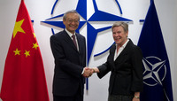 Head of the Chinese Mission to the EU visits NATO