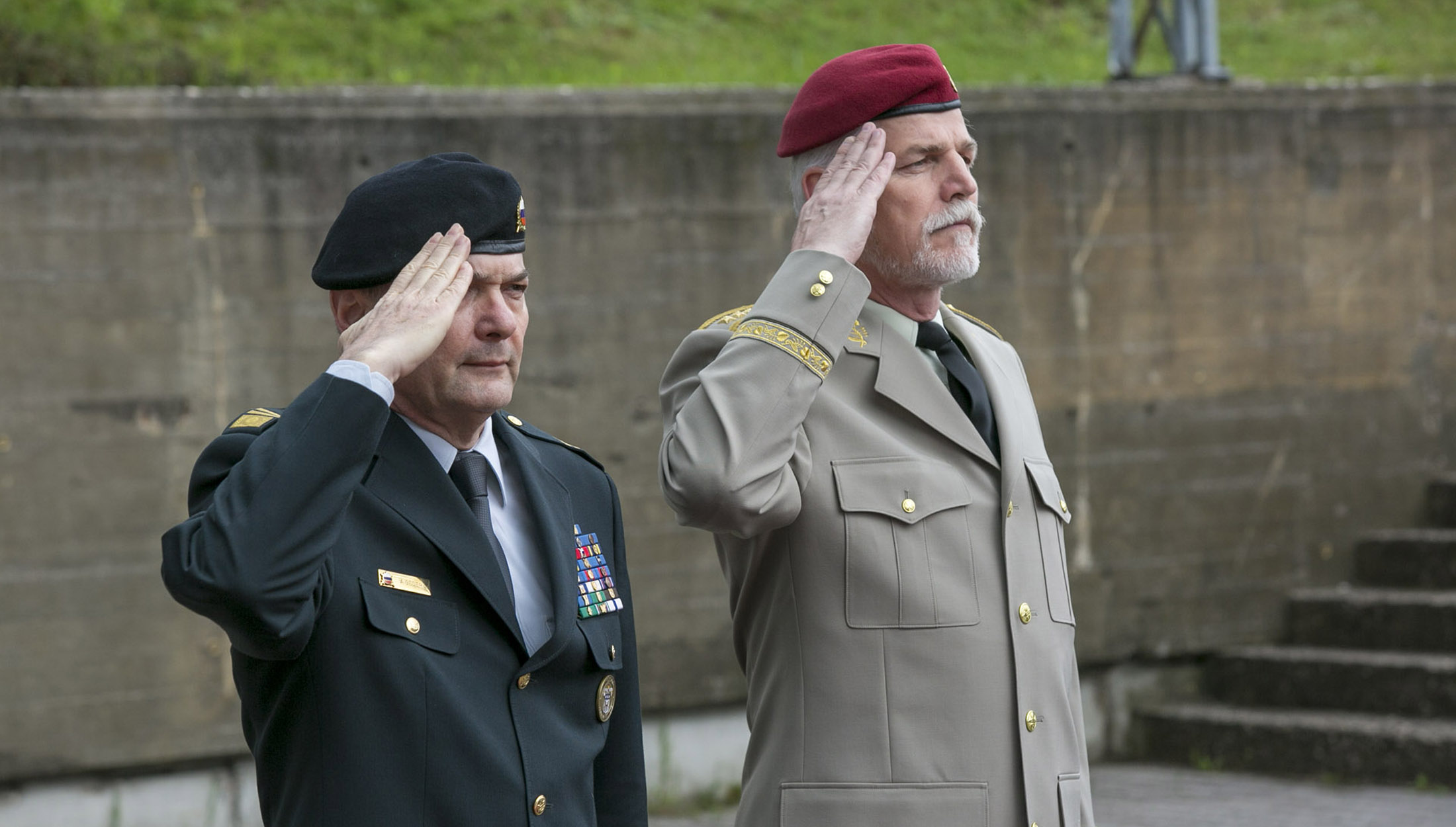 NATO - Photo gallery: Chairman of the NATO Military Committee visits