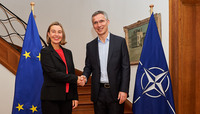 NATO Secretary General meets with EU High Representative for Foreign Affairs and Security Policy