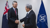 The Minister of Foreign Affairs of New Zealand visits NATO