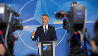 Press point by NATO Secretary General following NAC meeting on actions taken against use of chemical weapons in Syria