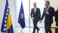 Visit to NATO by the Chairman of the Presidency of Bosnia and Herzegovina