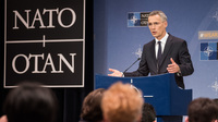 Meetings of the Ministers of Foreign Affairs at NATO Headquarters in Brussels - Press Conference by NATO Secretary General