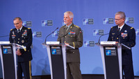 Meeting of the NATO Military Committee in Chiefs of Staff Session - Joint Press Conference with Chairman of the NATO Military Committee, the Supreme Allied Commander Europe and the Supreme Allied Commander Transformation