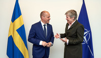 Minister for Justice and Home Affairs of Sweden visits NATO