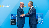 NATO Summit Brussels 2018 - Official greeting by NATO Secretary General