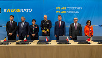 NATO Summit Brussels 2018 - Signing Ceremony for Land Battle Decisive Munitions