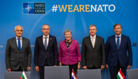 Meeting of the Ministers of Defence at NATO Headquarters in Brussels  - Signing of MOU on Multinational Special Aviation Programme