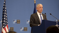 Meeting of the Ministers of Defence at NATO Headquarters in Brussels - Press Conference US Secretary of Defense