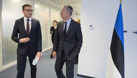 The Minister of Foreign Affairs of Estonia visits NATO