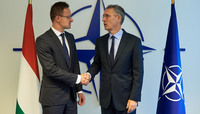 The Minister of Foreign Affairs and Trade of Hungary visits NATO