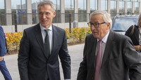 The President of the European Commission visits NATO