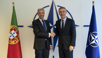 The Minister of Defence of Portugal visits NATO