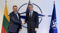 The Prime Minister of the Republic of Lithuania visits NATO