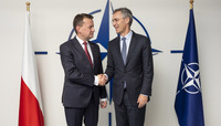Minister of Defence of the Republic of Poland visits NATO