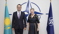 Visit to NATO by the Deputy Minister of Foreign Affairs of the Republic of Kazakhstan