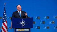 Meetings of the Ministers of Foreign Affairs at NATO Headquarters in Brussels - Press Conference US Secretary of State
