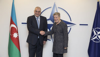 Meetings of the Ministers of Foreign Affairs at NATO Headquarters in Brussels - Bilateral meeting between NATO Deputy Secretary General and the Deputy Minister of Foreign Affairs of Azerbaijan