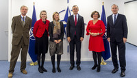 NATO Secretary General meets with WEP-5 partners