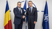 The Minister of Defence of Romania visits NATO