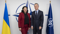 The Vice-Prime Minister for European and Euro-Atlantic Integration of Ukraine visits NATO