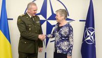 Visit to NATO by the Chief of Defence of Ukraine