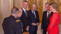 NATO Secretary General attends New Year Reception at the Belgian Royal Palace