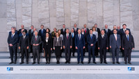 Meetings of the Ministers of Defence at NATO Headquarters in Brussels  - Official Family Portrait