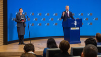 Meetings of the Ministers of Defence at NATO Headquarters in Brussels  - Press Conference by NATO Secretary General