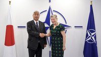 Member of the Japanese Parliament visits NATO