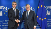 NATO Secretary General meets European Parliament President