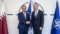 Deputy Prime Minister and Minister of Foreign Affairs of Qatar visits NATO