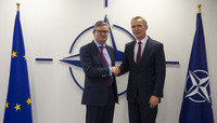 European Commissioner for the Security Union visits NATO