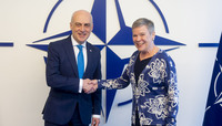Minister of Foreign Affairs of Georgia visits NATO