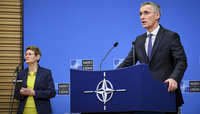 Meetings of the Ministers of Foreign Affairs in Washington - Pre-ministerial press conference by the NATO Secretary General