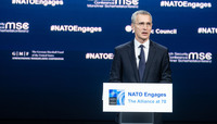 Meetings of the Ministers of Foreign Affairs in Washington - Speech by the NATO Secretary General to ''NATO Engages''